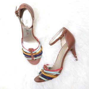 Anne Klein | Oadie Rainbow Sandal Heels 8.5